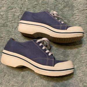 Dansko Vegan Blue Sneaker Non Slip Work Shoes